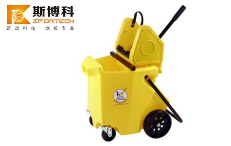 kaimotion体育木地板专用清洁桶